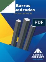 Barras Cuadradas (Aceros Arequipa)