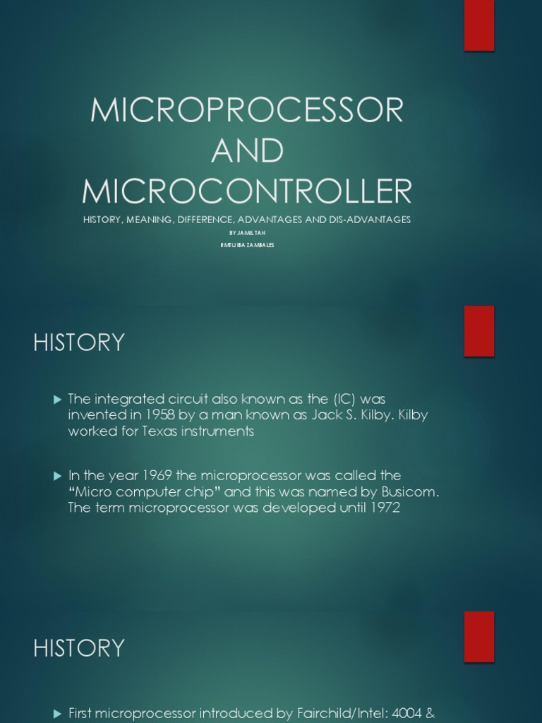 Microprocessor And Micronontroller System On A Chip Intelcomputers History Intel Computers Integrated Circuit