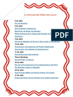 Fiestas Patrias Peru