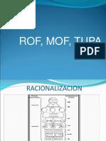 1 ROF, MOF, TUPA