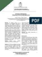 Sistemas de Informacion Principales Costos de Implementacion
