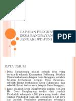 Capaian Program Kai Desa Bangbayang