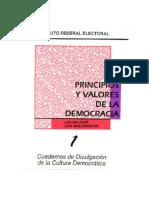 c1 Principios y Valores de La Democracia