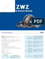 ZWZ Transmission Bearing Catalogue