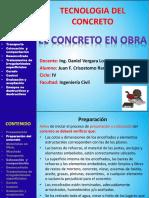Concreto en OBRA Enconfrado-compactacion