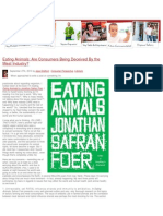 Vegan Blog - Are Consumers Being Deceived by the Meat Industry