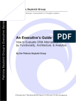 An Executive Guide to CRM