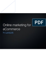 Online marketing for eCommerce