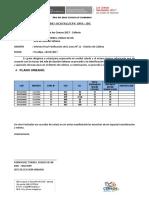 Modelo de Informe de Jefes de Seccion