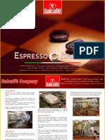 Brochure Italcaffe 2010 - English