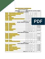 Plan Estudio 2006 II AVANCES