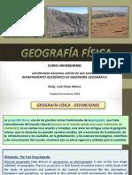 Geografía Física 2017 II Basico