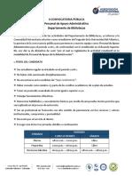 Departamento de Bibliotecas Convocatoria 2018-2 (1)