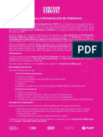CONFRONTACIONES - BASES PARA LA PRESENTACIÓN DE PONENCIAS