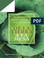Alimentos sustentables a la carta