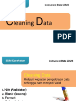 2. Cleaning Data