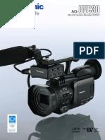 Panasonic AG-DVC30 Datashee