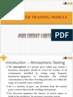 Gas Tester Training Module -1