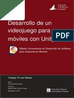Desarrollo de Un Videojuego Para Moviles Con Unity