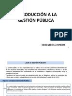 Introduccion a La Gestion Publica