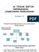 Presentasi Kelompok 3A - Rencana Tindak Sektor Pengembangan Lingkungan Permukiman