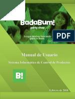 Manual BADABUM