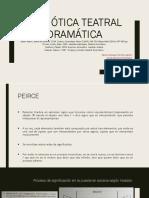 Semiótica Teatral - Drama