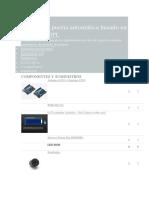 Sistema de Puerta Automática Basado en RFID