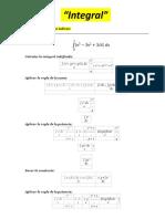 Calculo Integral Unidad 1 Evidencia Aprendizaje