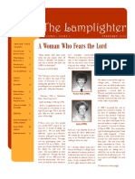 Feb 2010 Lamplighter Newsletter, LaFayette Alliance Church