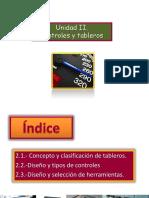 UNIDAD II. Tableros y Controles