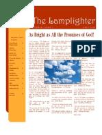 Jul 2010 Lamplighter Newsletter, LaFayette Alliance Church