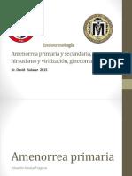 22 Amenorrea, Hirsutismo, Virilización y Ginecomastia - Equipo 1 - Amaya, Anaya, Burgos, Camacho, Carrizosa (2)