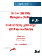 Structured Cabling System Project - Making Sense of Cabling