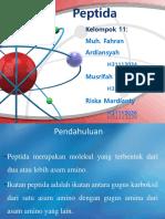 Kimia Organik 'Ikatan peptida'