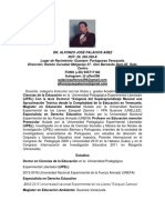 Aalfonzo José Palacios Añez Cv. Docente Universitario 11 Mas Anexo