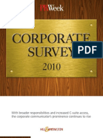 PRWeek/Hill & Knowlton Corporate Survey 2010 (Document)