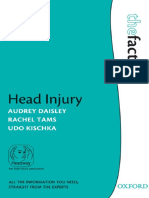 (Facts (Oxford England)) Audrey Daisley, Rachel Tams, Udo Kischka-Head Injury-Oxford University Press (2009)