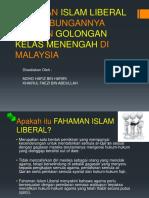 Fahaman Islam Liberal Dan Hubungannya Dengan Golongan Kelas