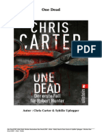 Bücher Kostenlose One Dead (PDF - EPub - Mobi) Durch Chris Carter & Sybille Uplegger