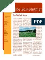 Oct 2010 Lamplighter Newsletter, LaFayette Alliance Church
