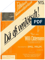 Willi Ostermann - Dä eß verdötsch