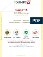 CompTIA Security+ SY0-401 Security Management Real Exam Q&A Updated 2017