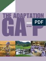 The Adaptation Gap - Finance Report CC