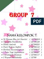 Group 7 Baru