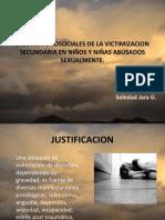 VICTIMIZACION SECUNDARIA EN NIÑOS Y NIÑAS ABUSADOS SEXUALMENTE