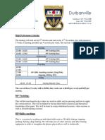 2018 HSD HP Training