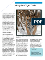 USFWS Fact Sheet | Tiger Trade