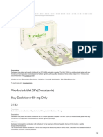 Virodacla tablet 28's(Daclatasvir)