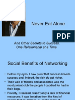 Never Eat Alone Networking
